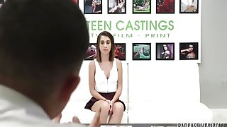 18yo Joseline Kelly Gets A Nice Sweet Fucking On Her First Time Casting